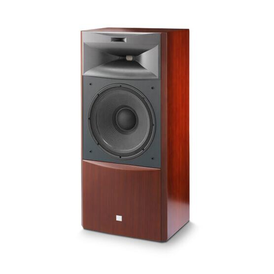 "JBL S4700 - Cherry - 3-way 15"" (380mm) Floorstanding Loudspeaker - Detailshot 1"