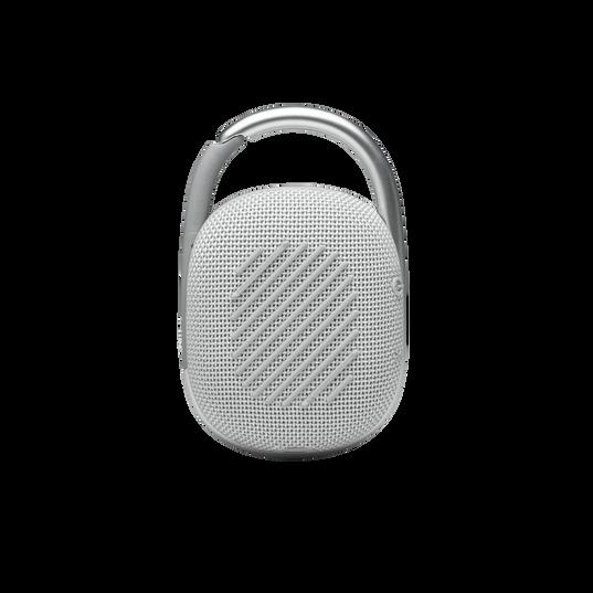 JBL CLIP 4 - White - Ultra-portable Waterproof Speaker - Back