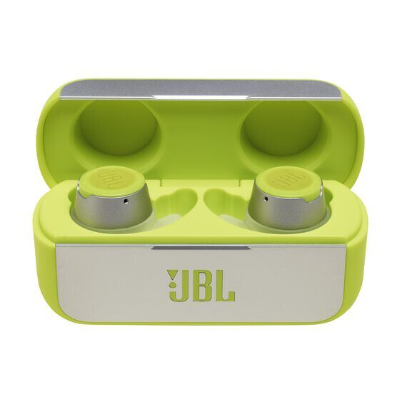 JBL REFLECT FLOW - Green - True wireless sport headphones. - Detailshot 3