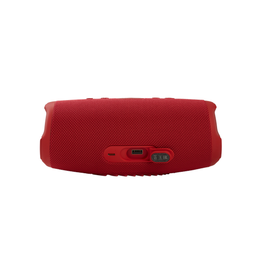 JBL CHARGE 5 - Red - Portable Waterproof Speaker with Powerbank - Detailshot 1