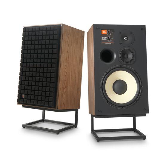 """L100 Classic - Black - 12"""" 3-way Bookshelf Loudspeaker - Hero"""