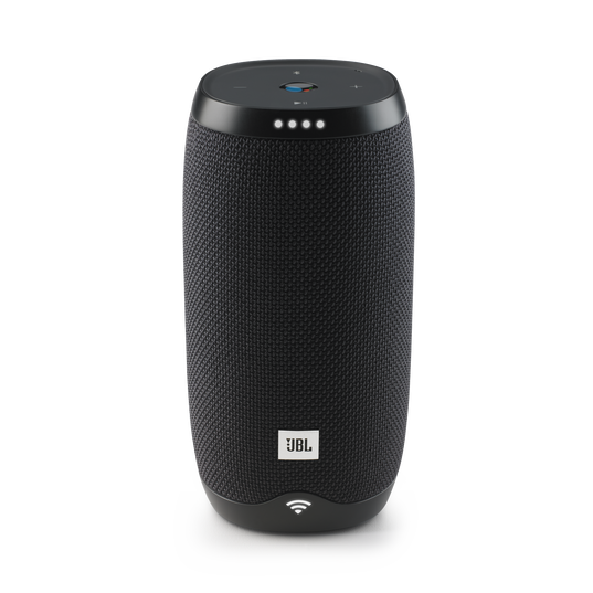 JBL Link 10 - Black - Voice-activated portable speaker - Front