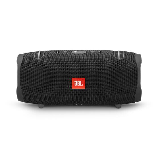 JBL Xtreme 2 - Midnight Black - Portable Bluetooth Speaker - Front