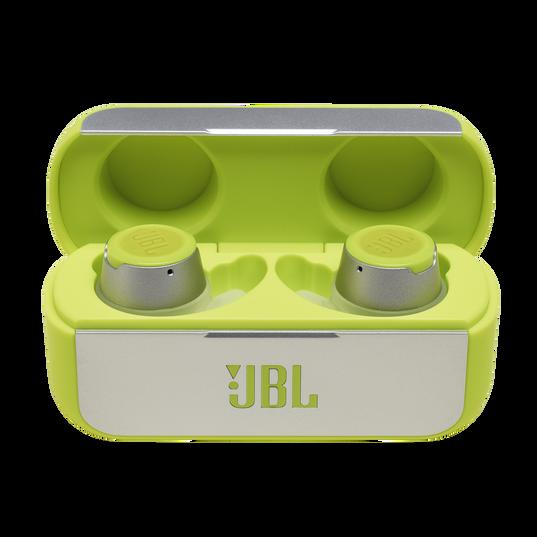 JBL Reflect Flow - Green - Waterproof true wireless sport earbuds - Hero