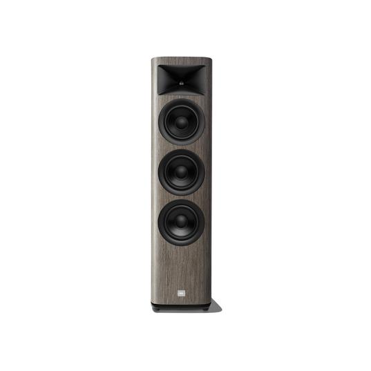 HDI-3600 - Grey Oak - 2 ½-way Triple 6.5-inch (165mm) Floorstanding Loudspeaker - Hero