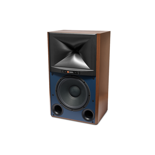 4349 - Walnut - 12-inch (300mm) 2-way Studio Monitor Loudspeaker - Left