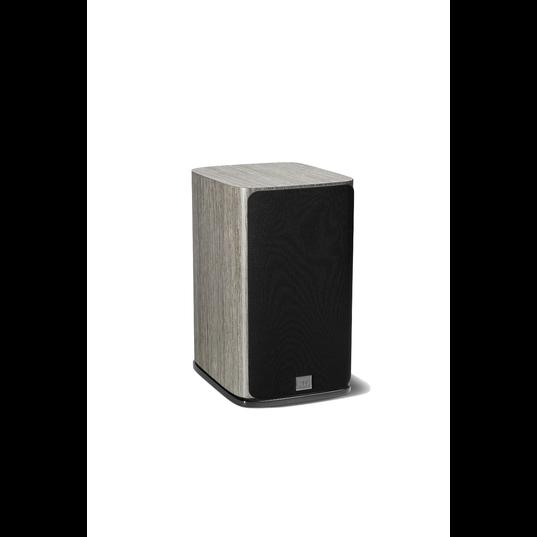 HDI-1600 - Grey Oak - 2-way 6.5-inch (165mm) Bookshelf Loudspeaker - Front