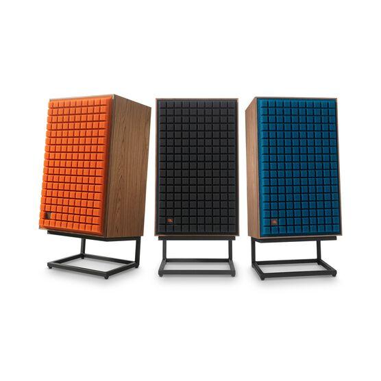"L100 Classic - Blue - 12"" 3-way Bookshelf Loudspeaker - Detailshot 5"