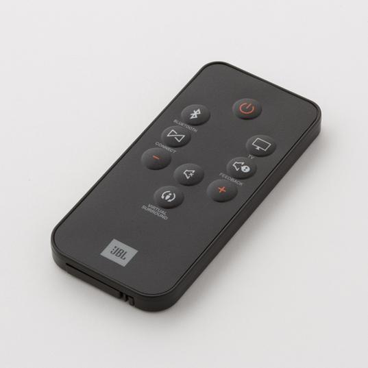 JBL BOOST TV Remote controller - Black - Hero