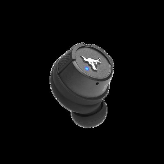 UA Project Rock True Wireless X - Engineered by JBL - Black - In-Ear Sport Headphones - Detailshot 3