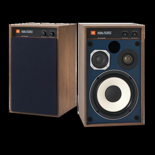 "4312MII - Brown - 5.25"" 3-way Studio Monitor Loudspeaker - Hero"