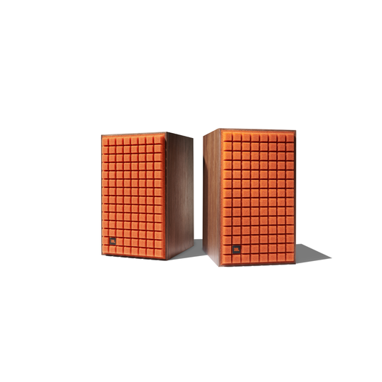 """L82 Classic - Orange - 8"""" (200mm) 2-way Bookshelf Loudspeaker - Left"""