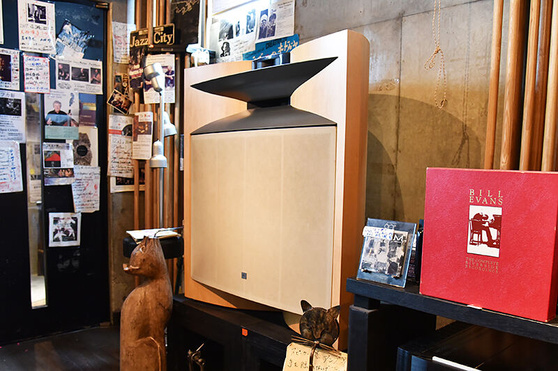 JBLが聴ける店・稲毛JAZZ SPOT CANDY02
