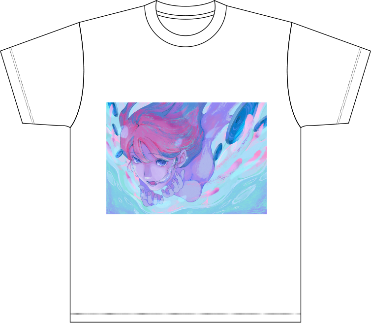 藍にいな × JBL オリジナルイラストTシャツ