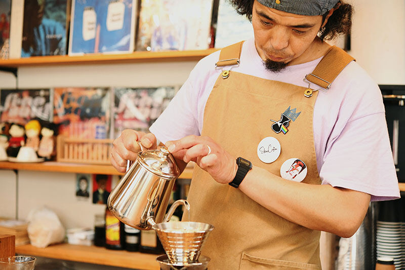 JBLが聴ける店・STEREO COFFEE08