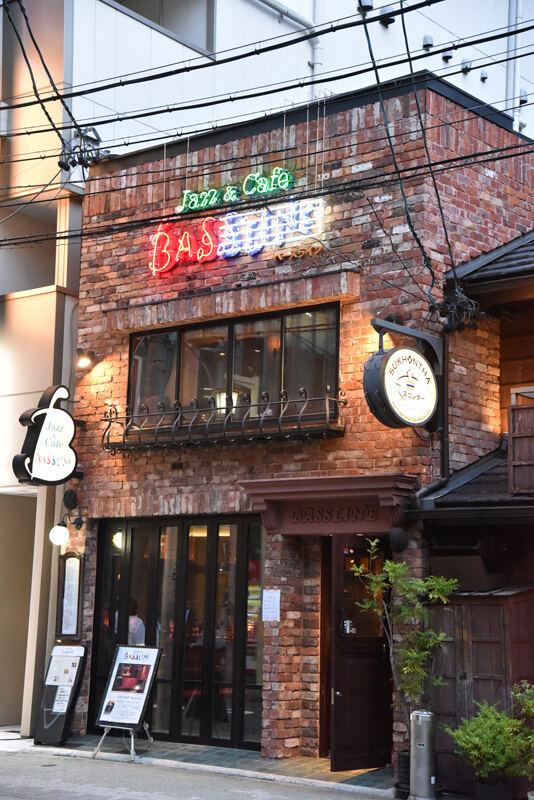 JBLが聴ける店・名古屋・中村区 Jazz & Cafe BASSLINE 01