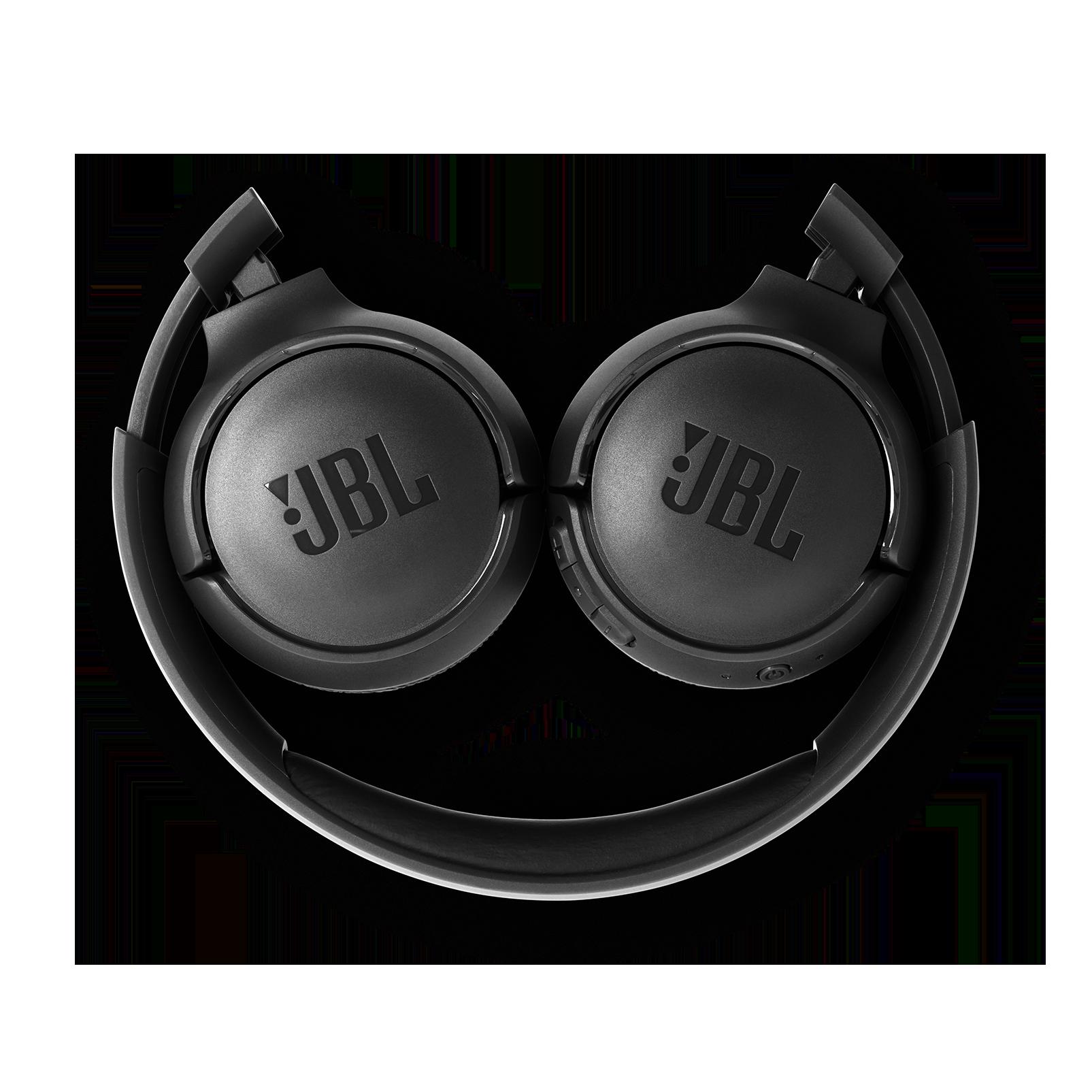 JBL TUNE 500BT - Black - Wireless on-ear headphones - Detailshot 2