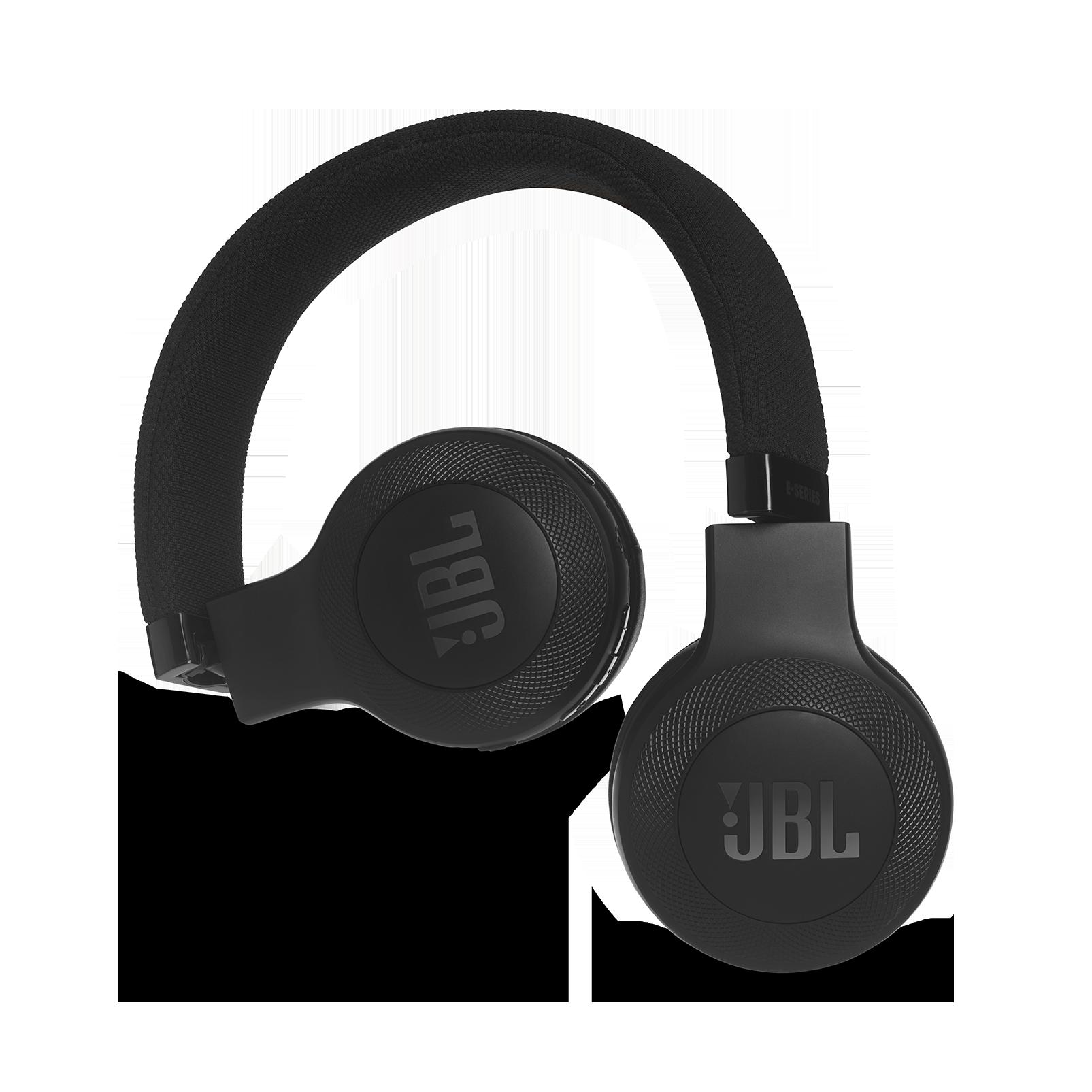 JBL E45BT - Black - Wireless on-ear headphones - Detailshot 1