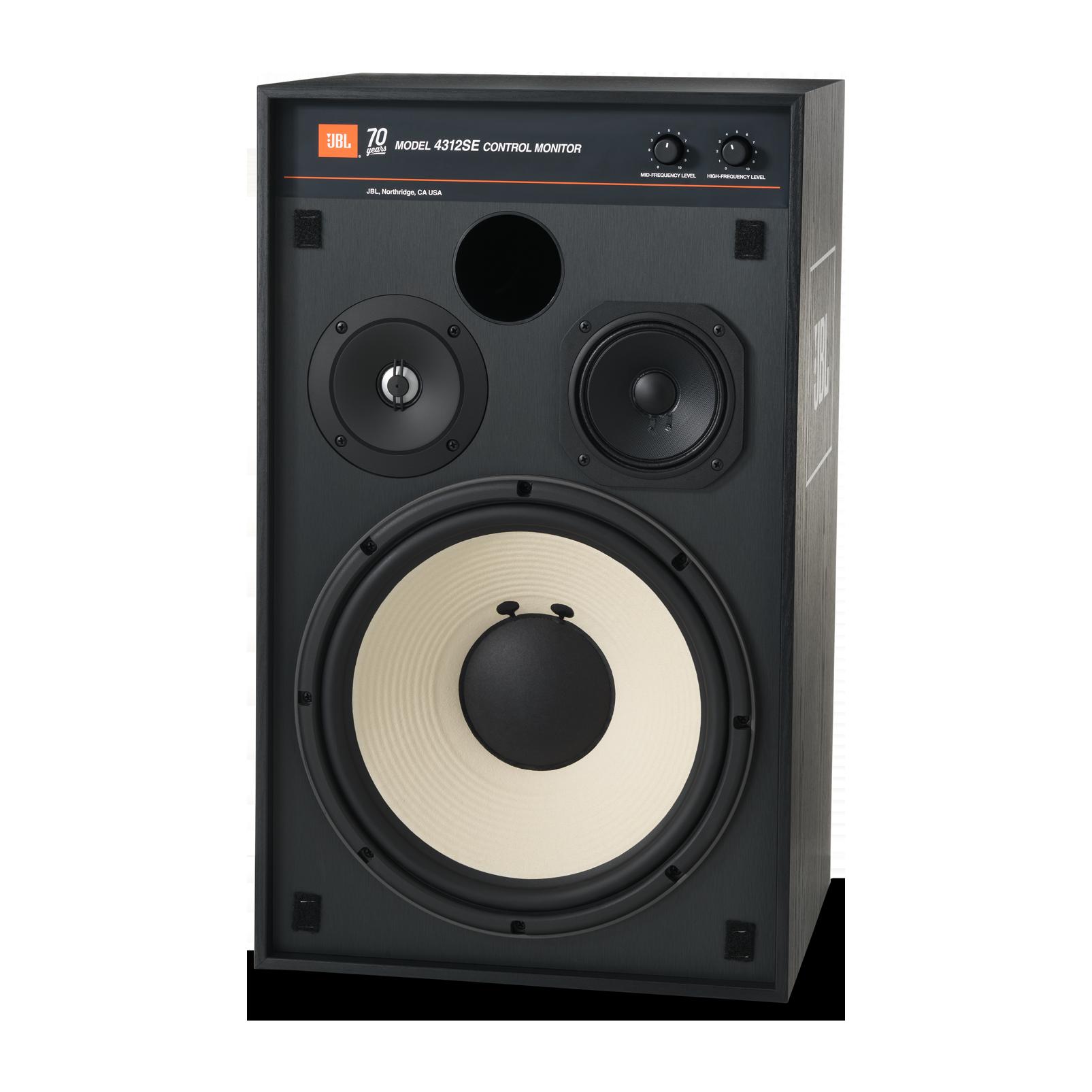 4312SE - Black - JBL 4312SE Studio Monitor Bookshelf Loudspeaker - Detailshot 3
