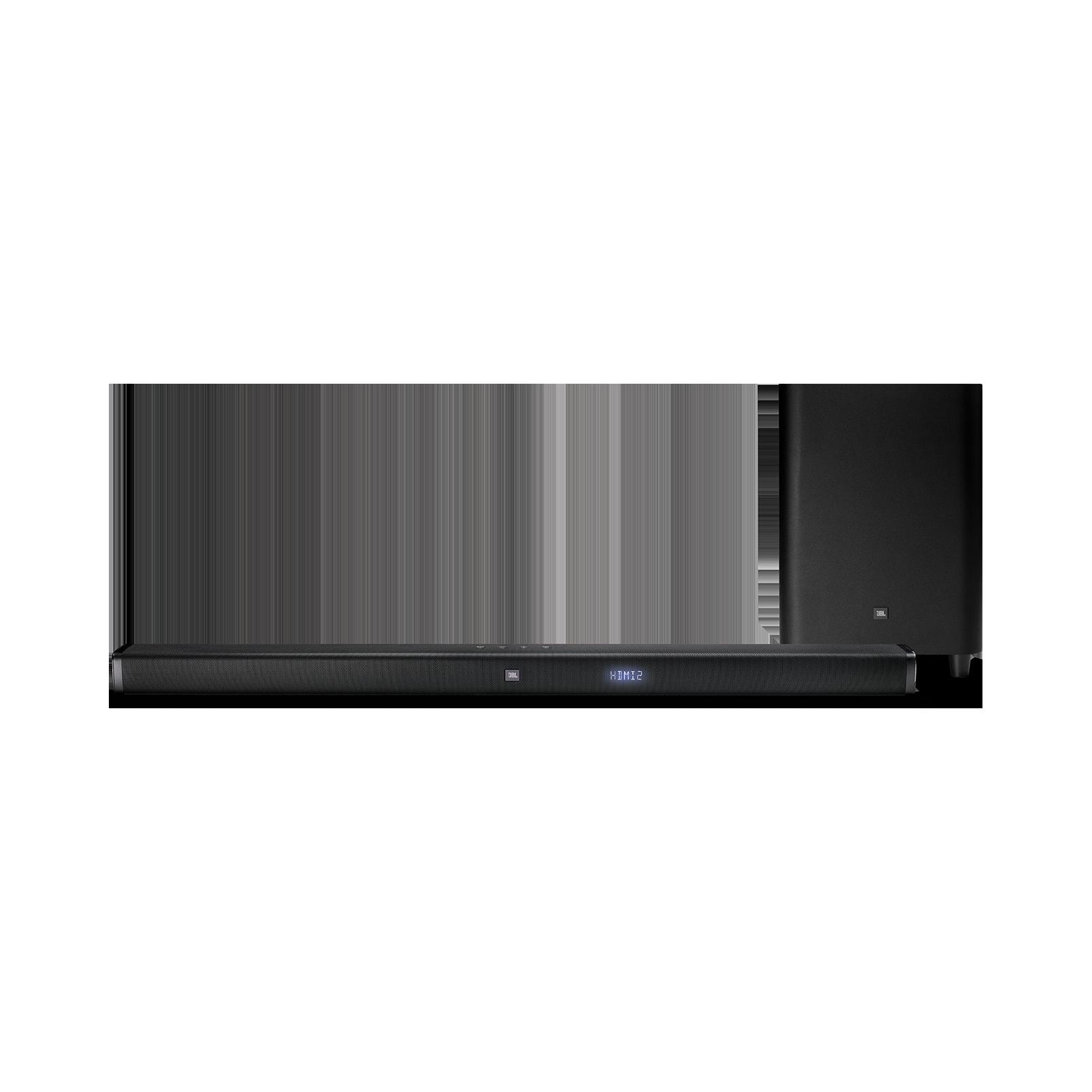 JBL Bar 3.1 - Black - 3.1-Channel 4K Ultra HD Soundbar with Wireless Subwoofer - Front