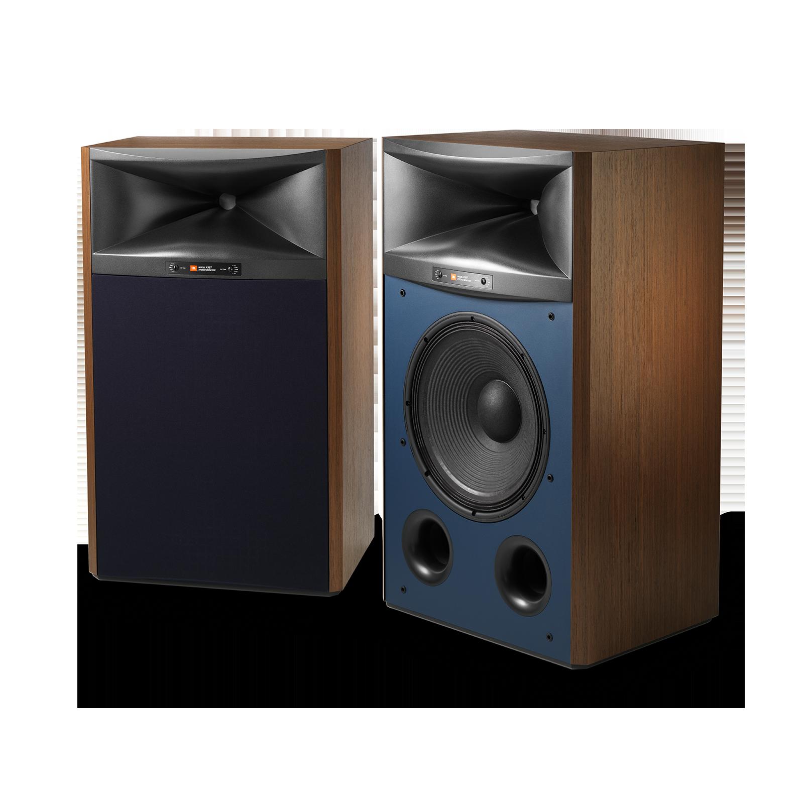 """4367 - Cherry - 2-way 15"""" (380mm) Floorstanding Studio Monitor Loudspeaker - Detailshot 3"""