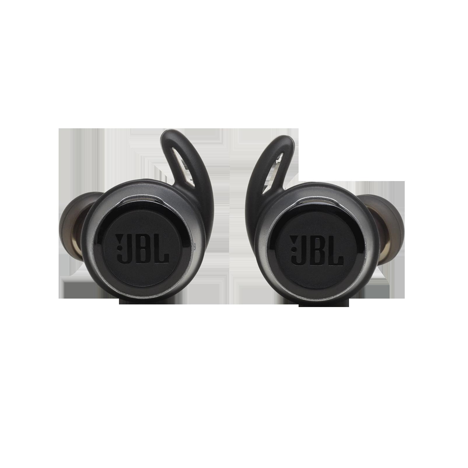JBL REFLECT FLOW - Black - True wireless sport headphones. - Front