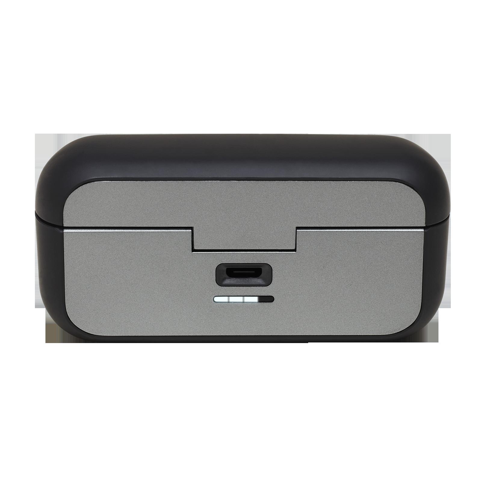 JBL REFLECT FLOW - Black - True wireless sport headphones. - Detailshot 1
