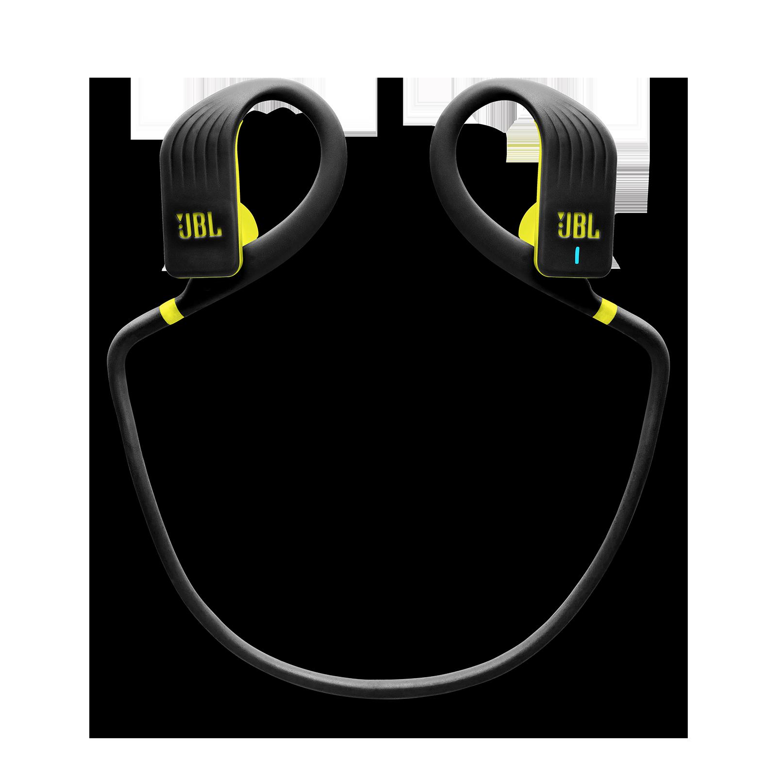 JBL Endurance JUMP - Yellow - Waterproof Wireless Sport In-Ear Headphones - Detailshot 2