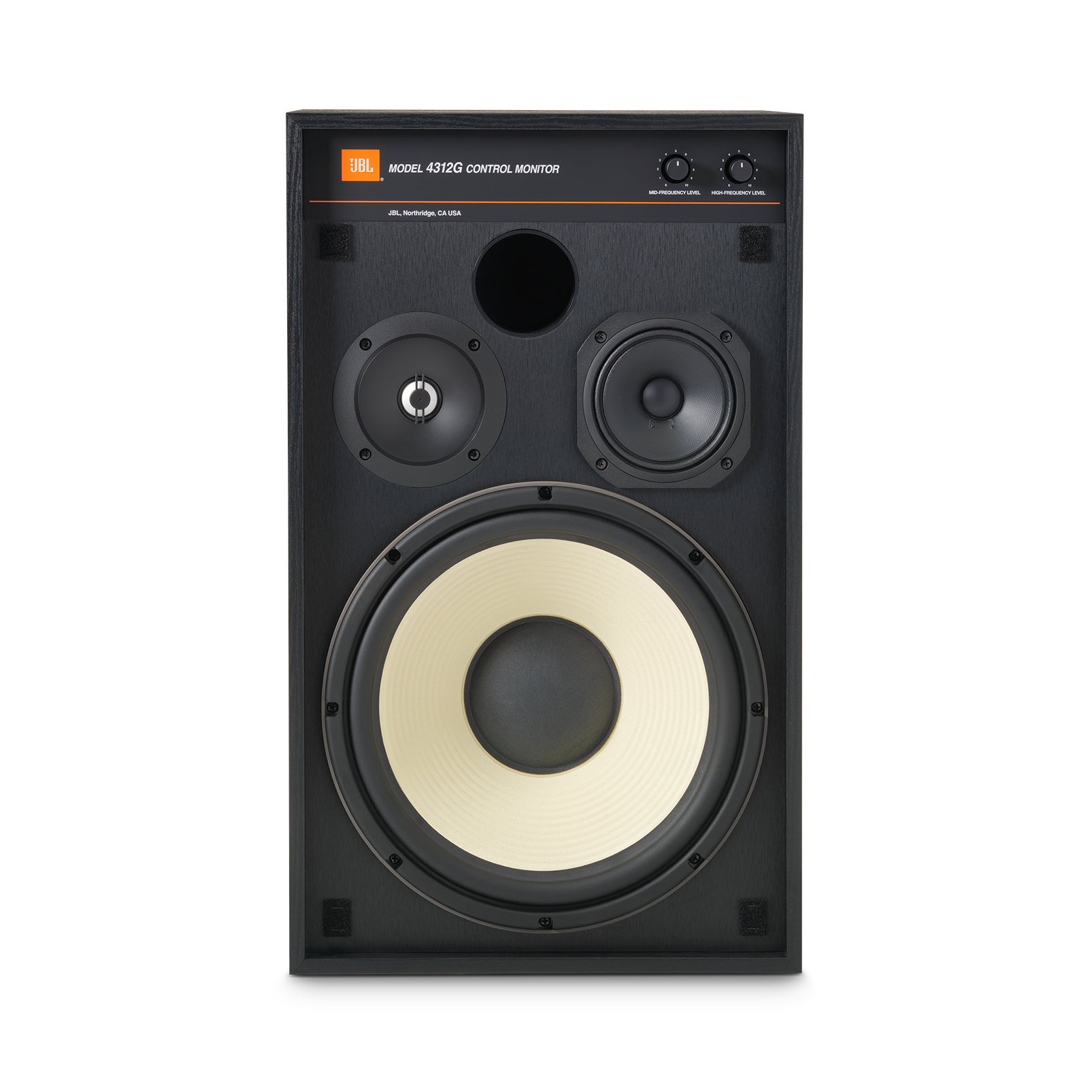 4312G - Black - 12-inch (300mm) 3-way Studio Monitor Bookshelf Loudspeaker - Detailshot 1