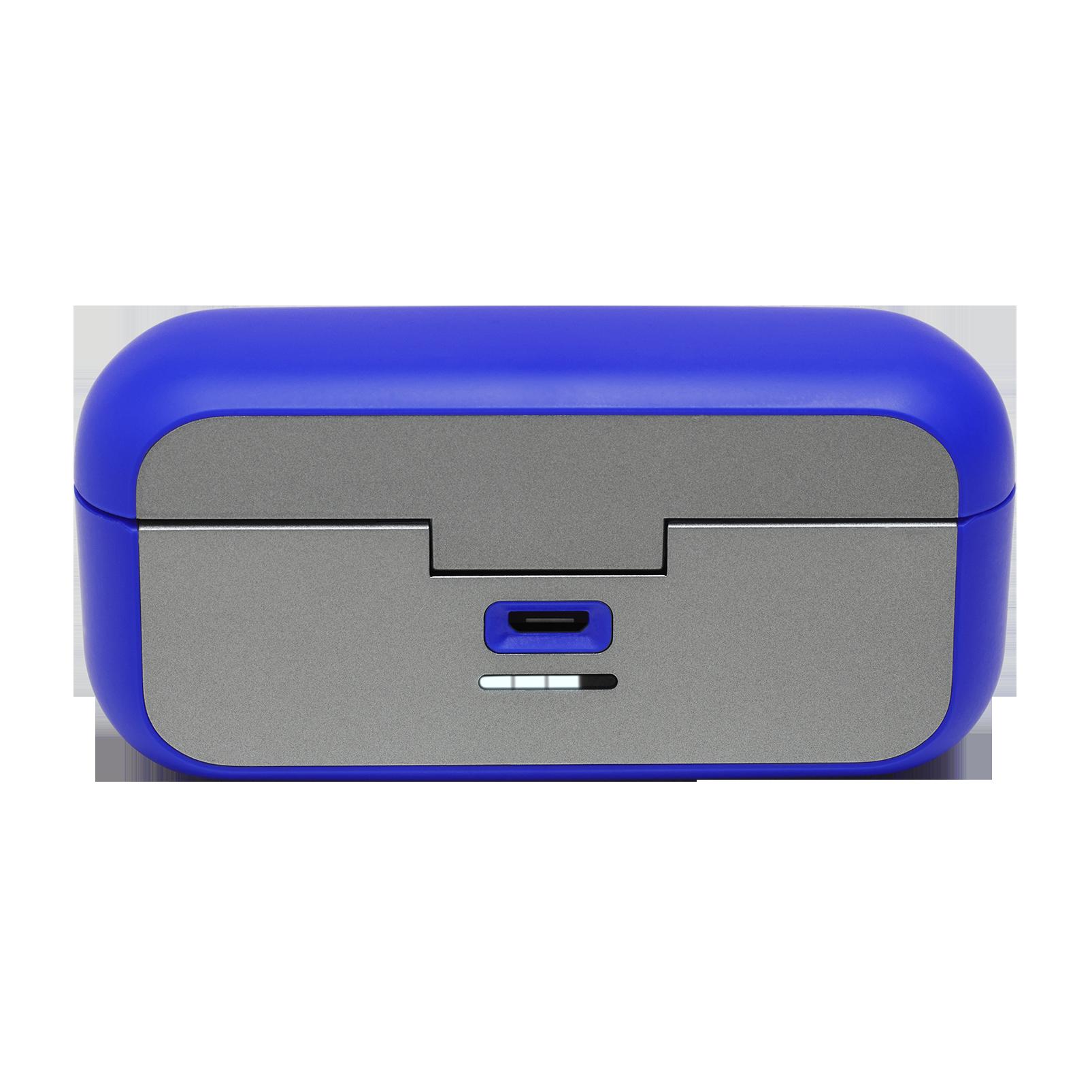 JBL REFLECT FLOW - Blue - True wireless sport headphones. - Detailshot 1
