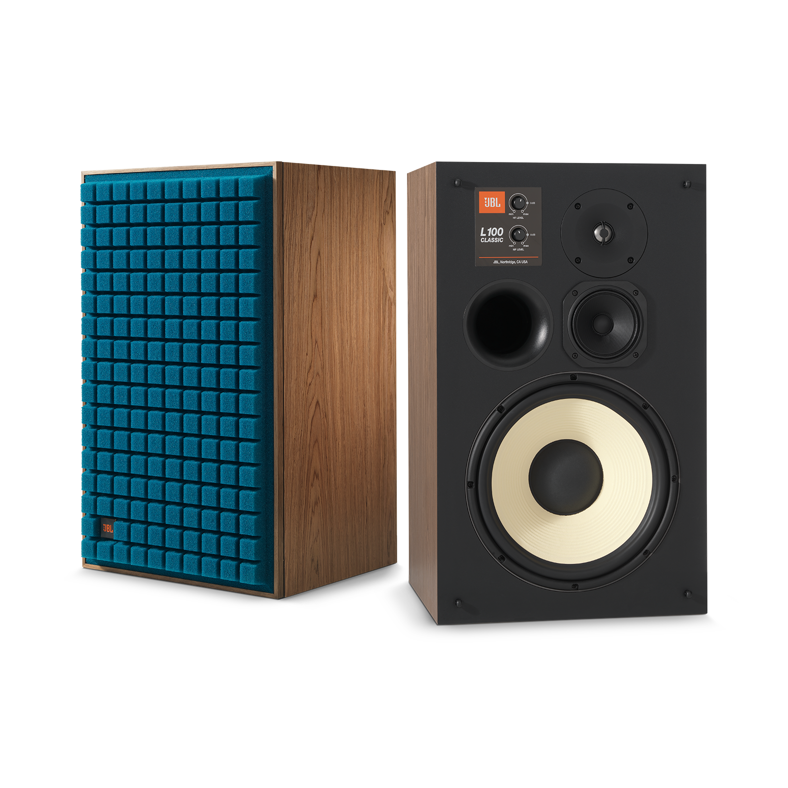 "L100 Classic - Blue - 12"" 3-way Bookshelf Loudspeaker - Hero"
